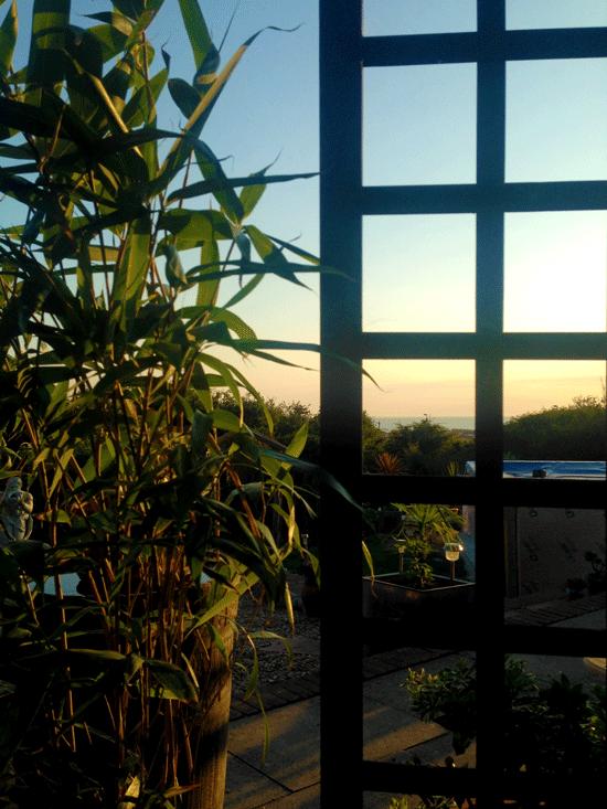 cabin_sunset