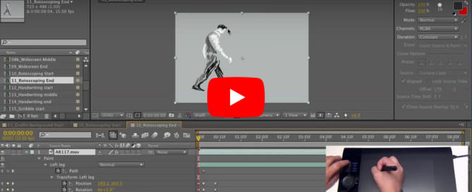 Rotoscoping After Effects