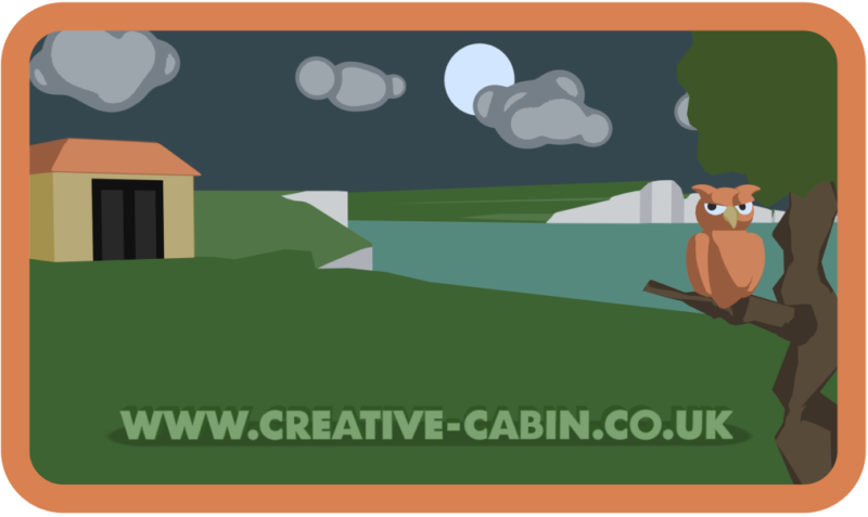Creative cabin accommodation