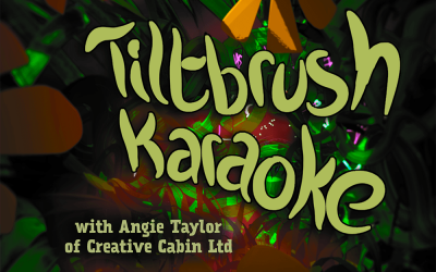 Tiltbrush Karaoke night